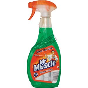 Mr.Muscle Window 500ml pumpa zelený