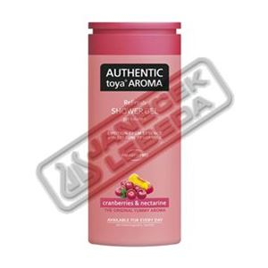 AUTHENTIC sprchový gel 400ml Cranberries&nectarine