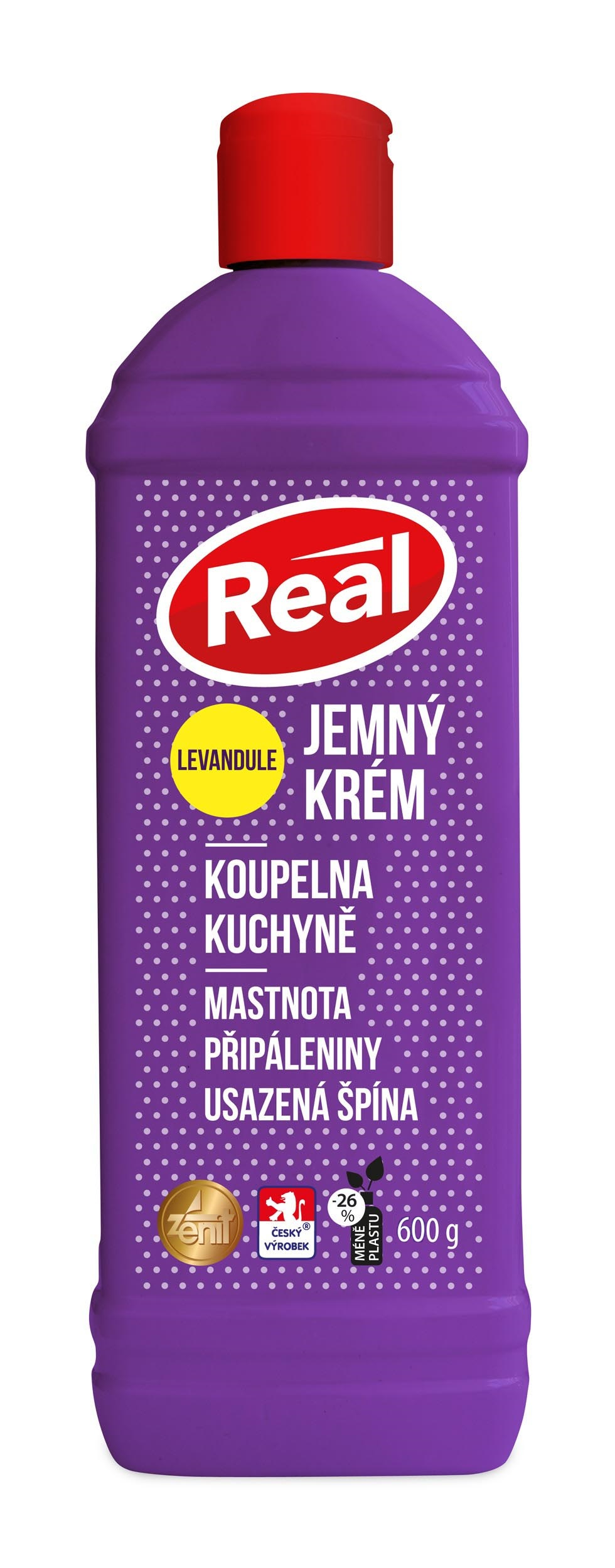 Real extra jemný levandule 600g