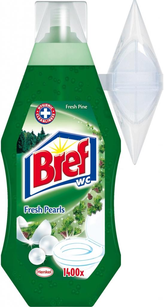 Bref WC 360ml  Pine gel s košíčkem