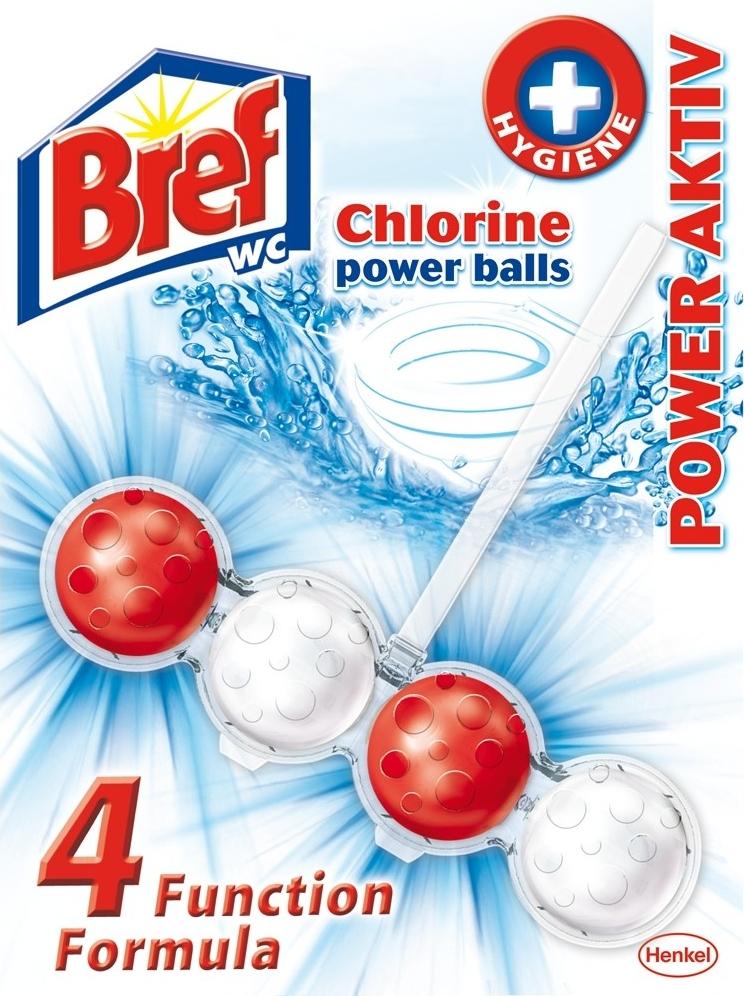 Bref WC blok Chlorine 51g kuličky
