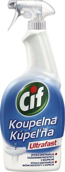 Cif Ultrafast Koupelna 750ml pumpa