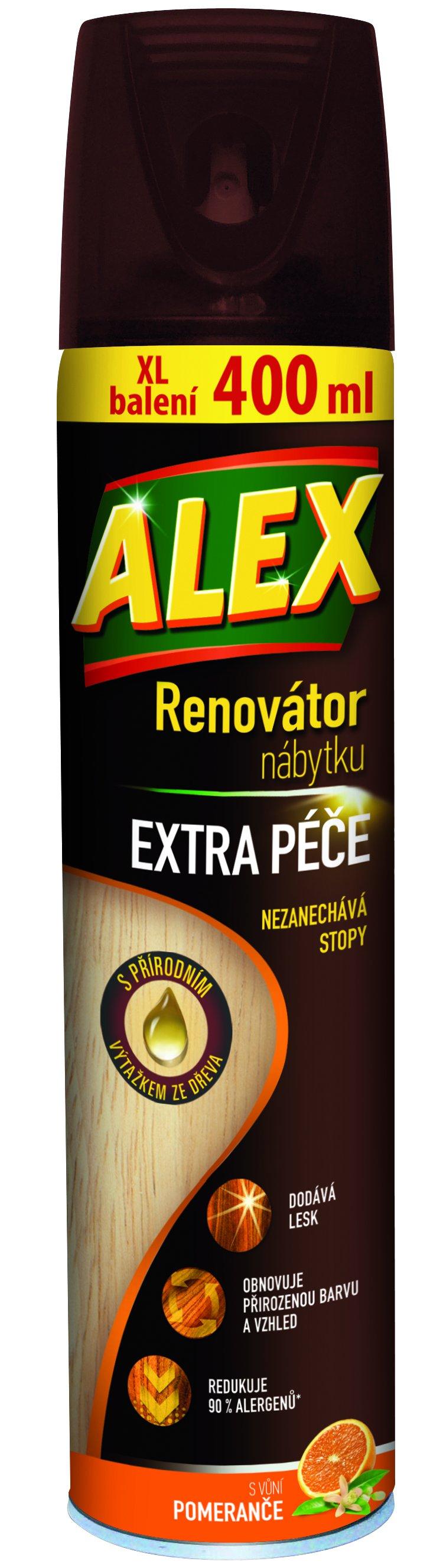 Alex sprej Renovátor extra péče 400ml