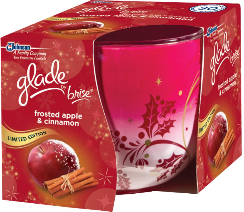 Glade svíčka Jablko&skořice 120g