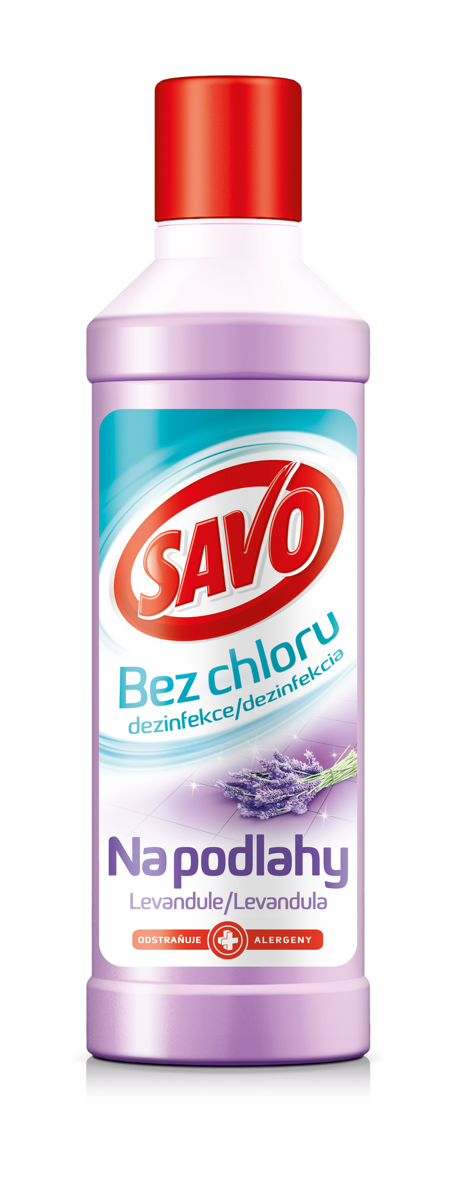 Savo bez chloru podlahy Levandule 1l