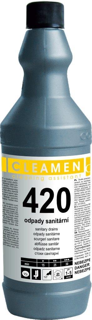 Cleamen 420 odpady sanitární 1l