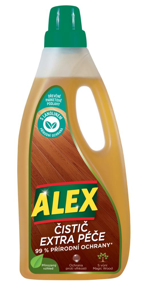 Alex extra ochrana dřevo a parkety 750ml