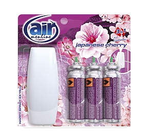 AIR menline osvěž. spray 3x15ml Japanese cherry