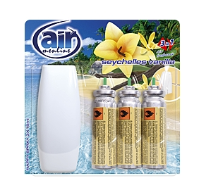 AIR menline osvěž. spray 3x15ml Seychelles vanilla