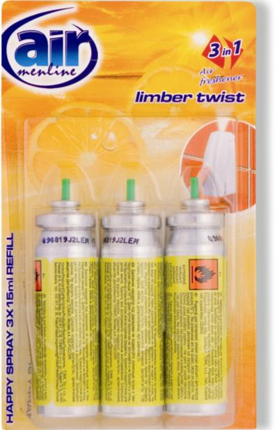 AIR menl.happy spray 3x15ml Limber náplň