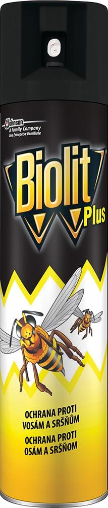 Biolit Plus proti vosám a sršňům 400ml