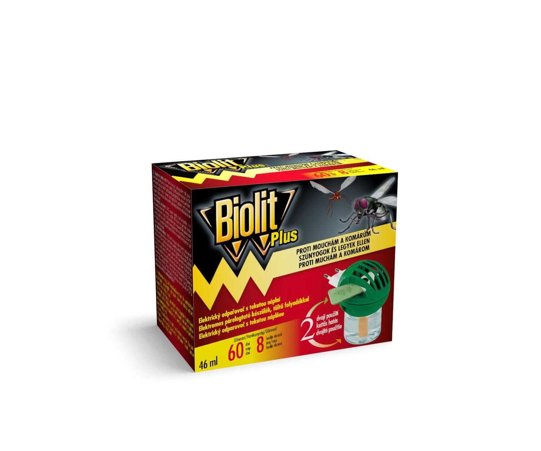 Biolit Plus elek.odpařovač proti mouchám