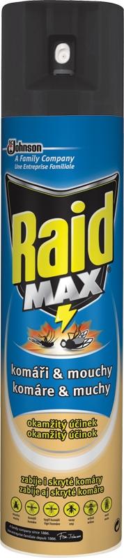 Raid proti létajícímu hmyzu MAX 300ml/M