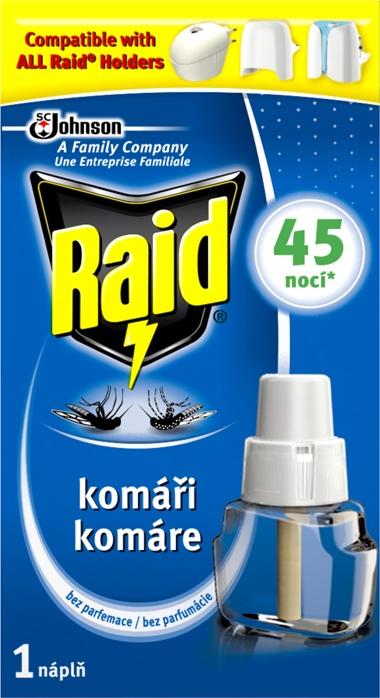Raid el.náhradní náplň tekutá 45 nocí 27ml