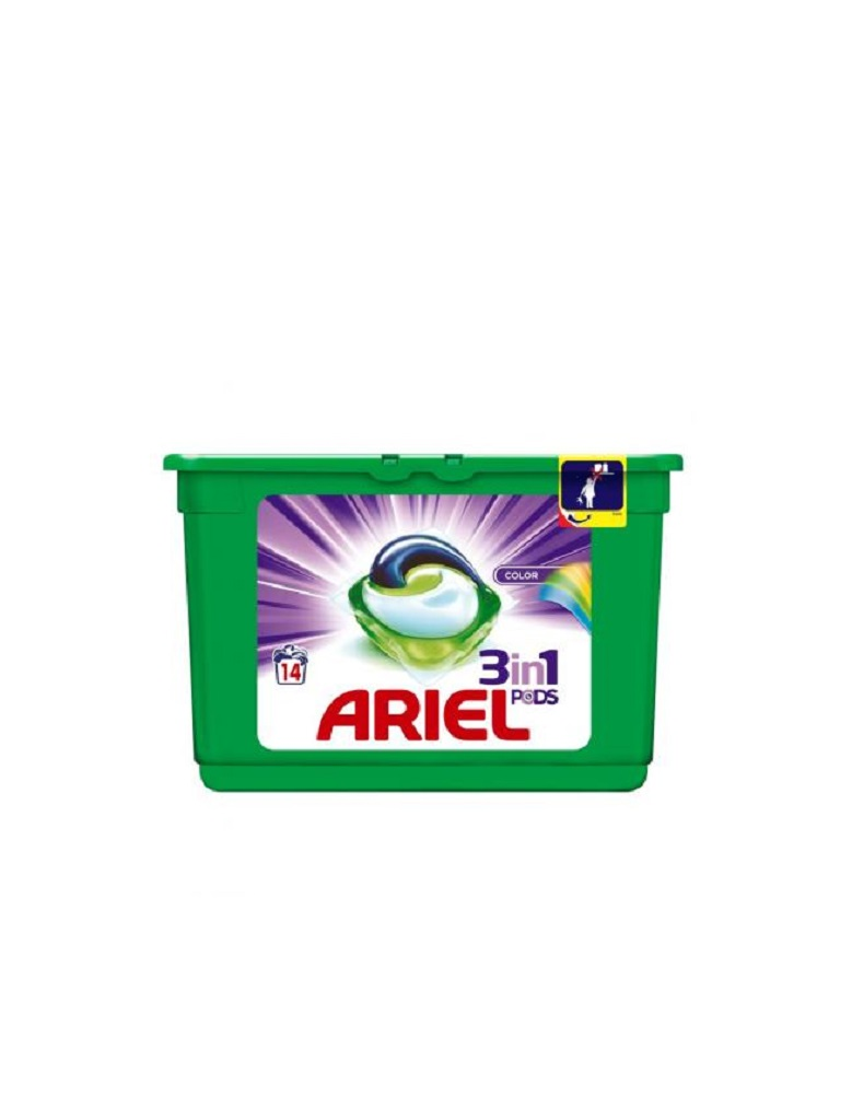 Ariel gelové kapsle 14ks Color