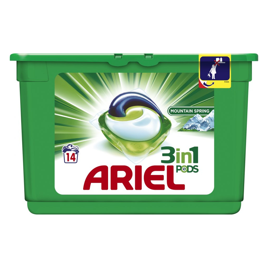 Ariel gelové kapsle 14ks Mount.Spring