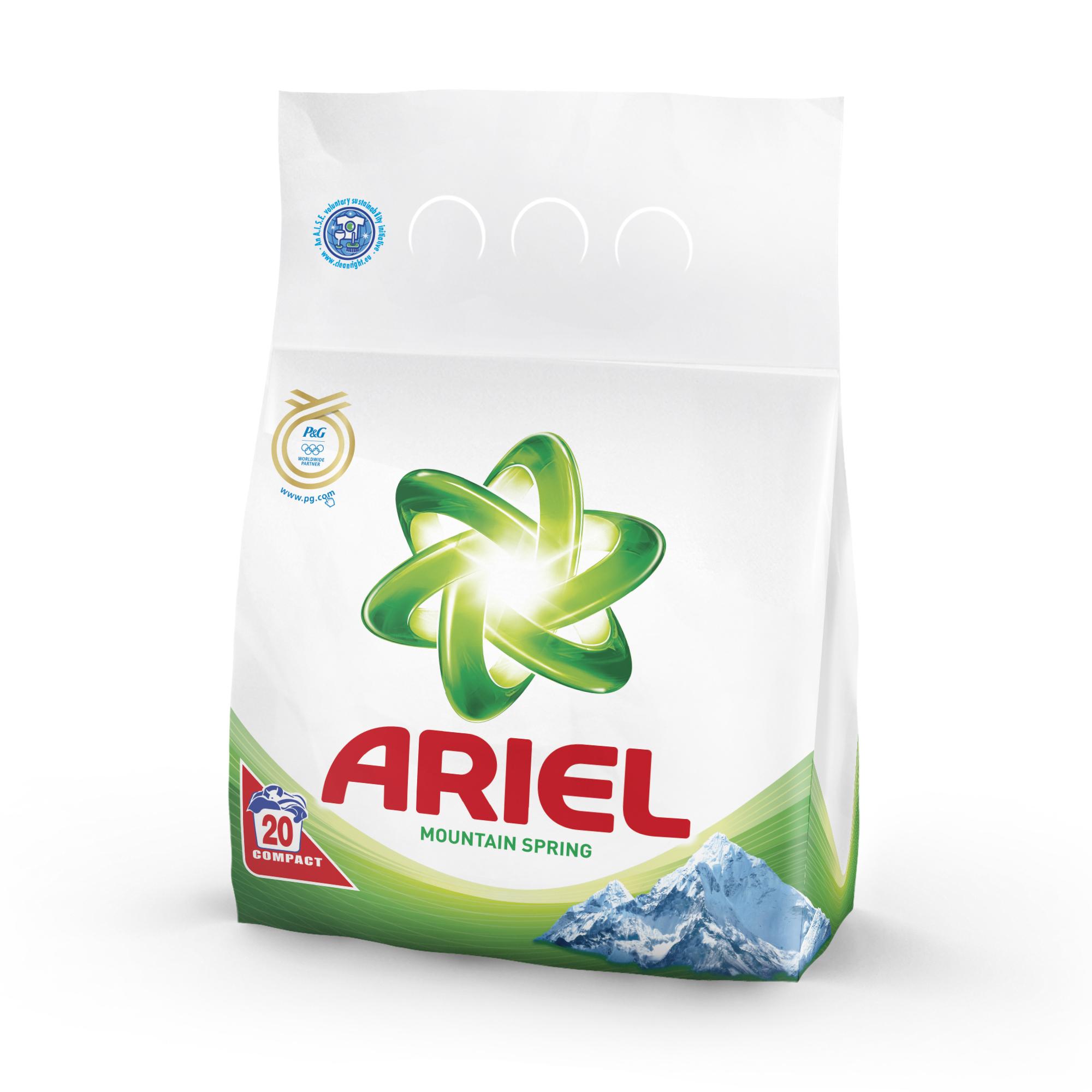 Ariel 1,5kg 20dávek Mountain spring