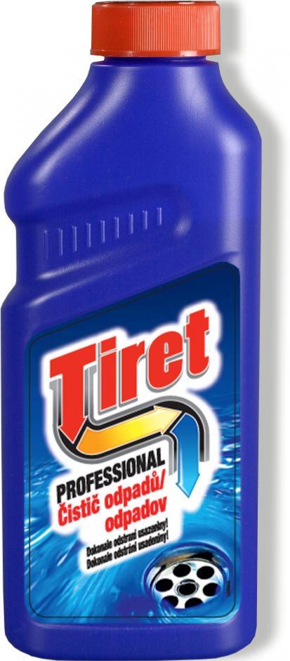 Tiret Professional 500ml - čistič odpad