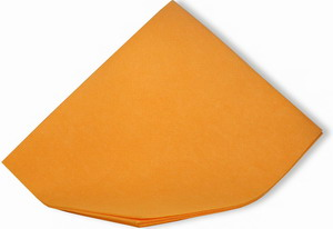 Hadr mycí na podlahu Petr 60x70 oranžový