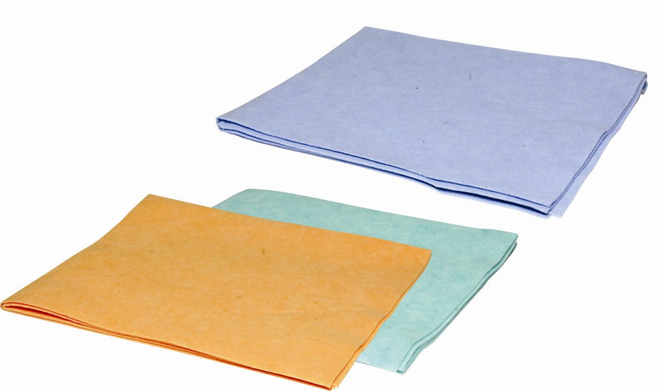 Hadr mycí na podlahu Petr/oranž 50x60