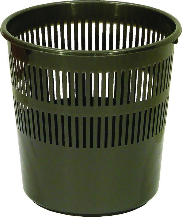 Koš odpad.plast.děrovaný rovný 12l