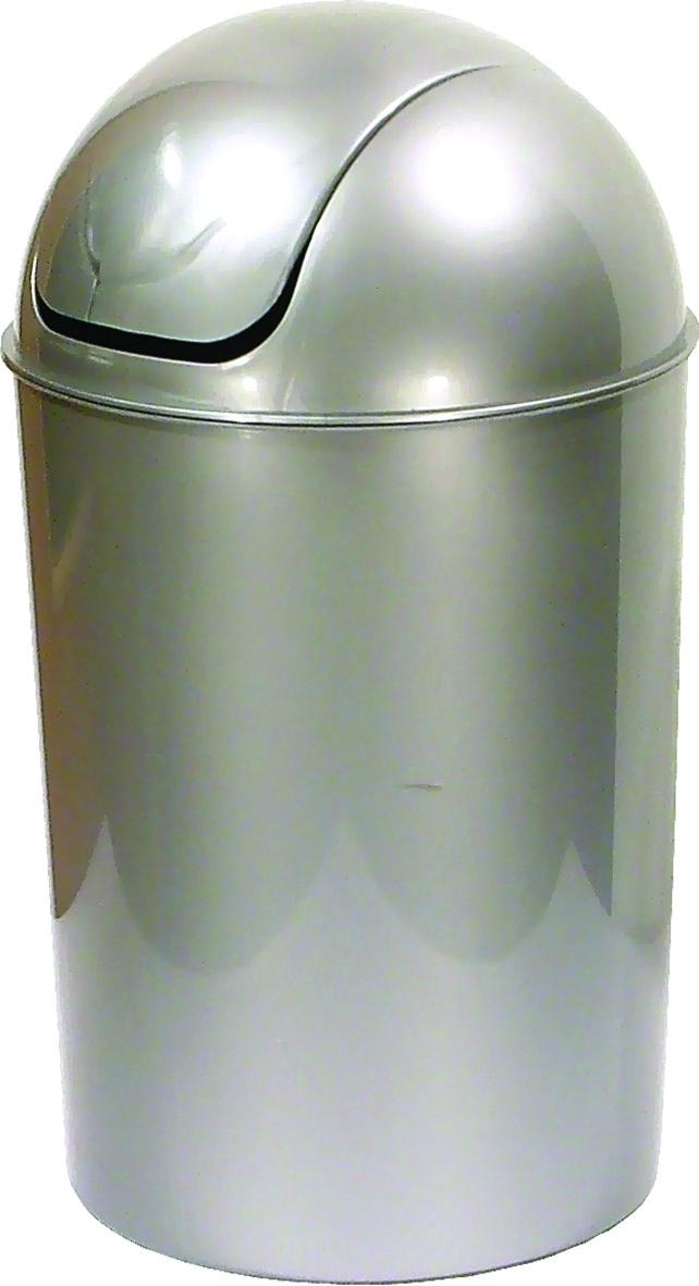 Koš odpadkový kulatý s víkem Oskar 15 l