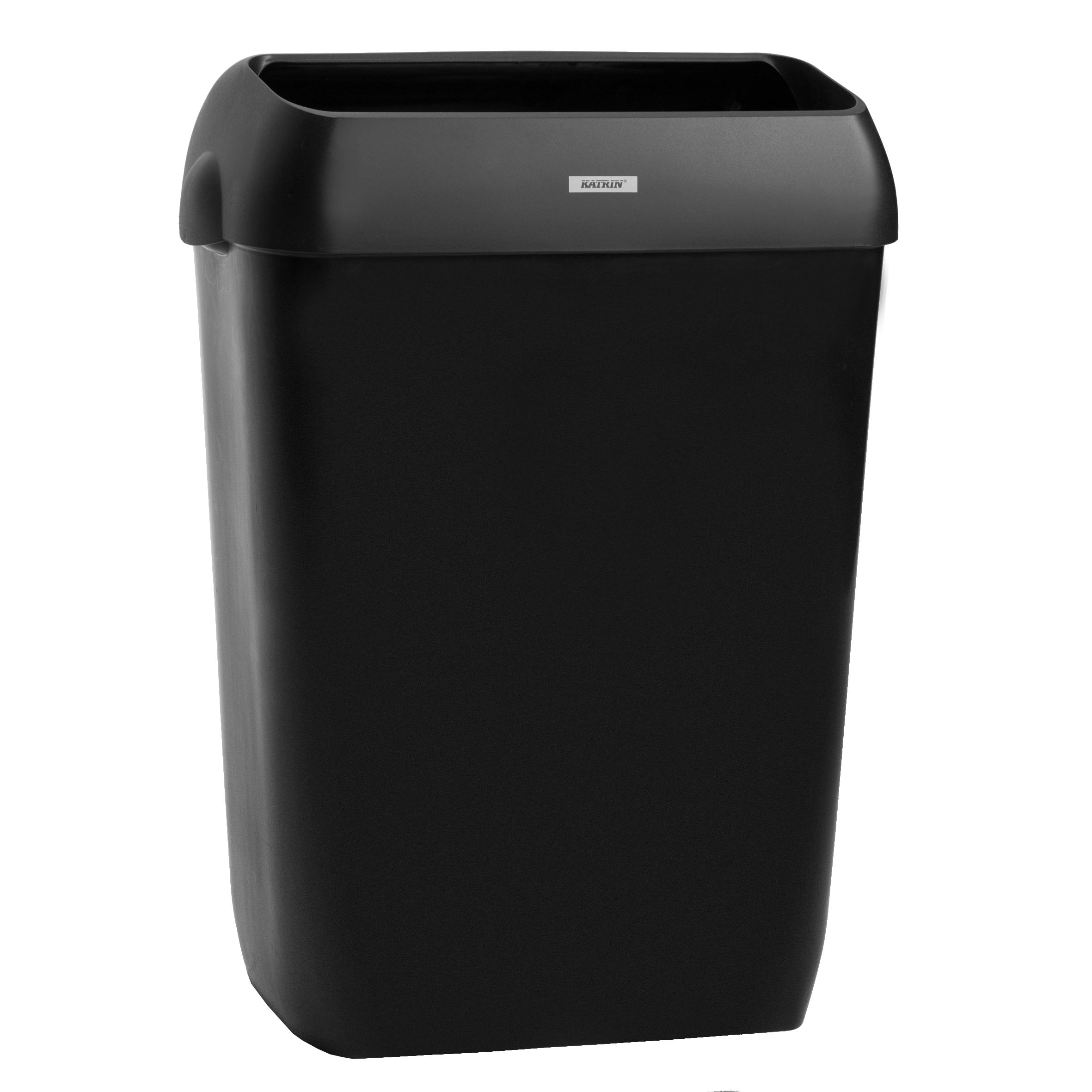 Koš na odpadky s víkem 50l 92285 Černý Katrin