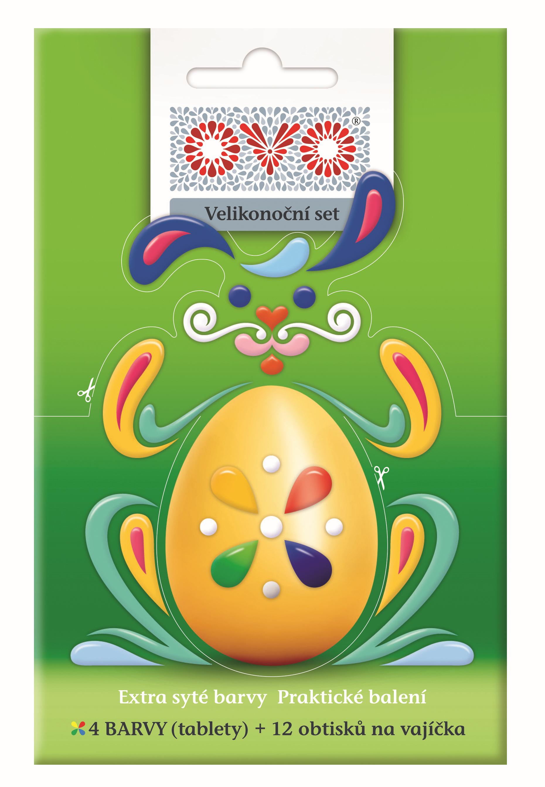 OVO tablety set (4 barvy + 12 obtisků)