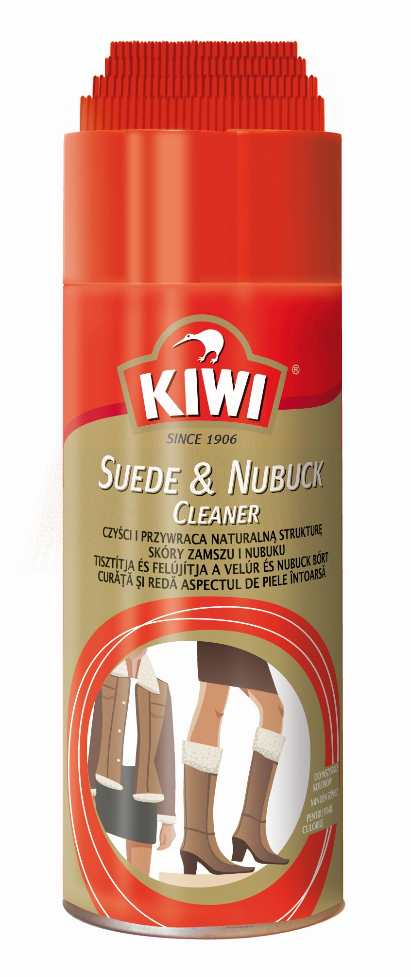 Kiwi Suede&Nubuck Cleaner na semiš