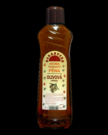 Herbavera koupelová pěna Olivová 1000ml