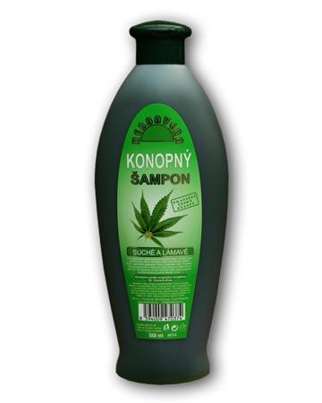 Herbavera Šampon konopný na suché vlasy 550ml