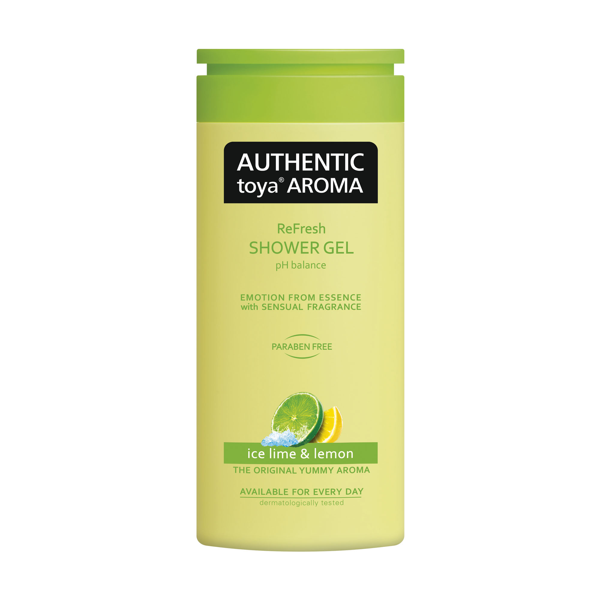 AUTHENTIC sprchový gel 400ml Ice lime&lemon