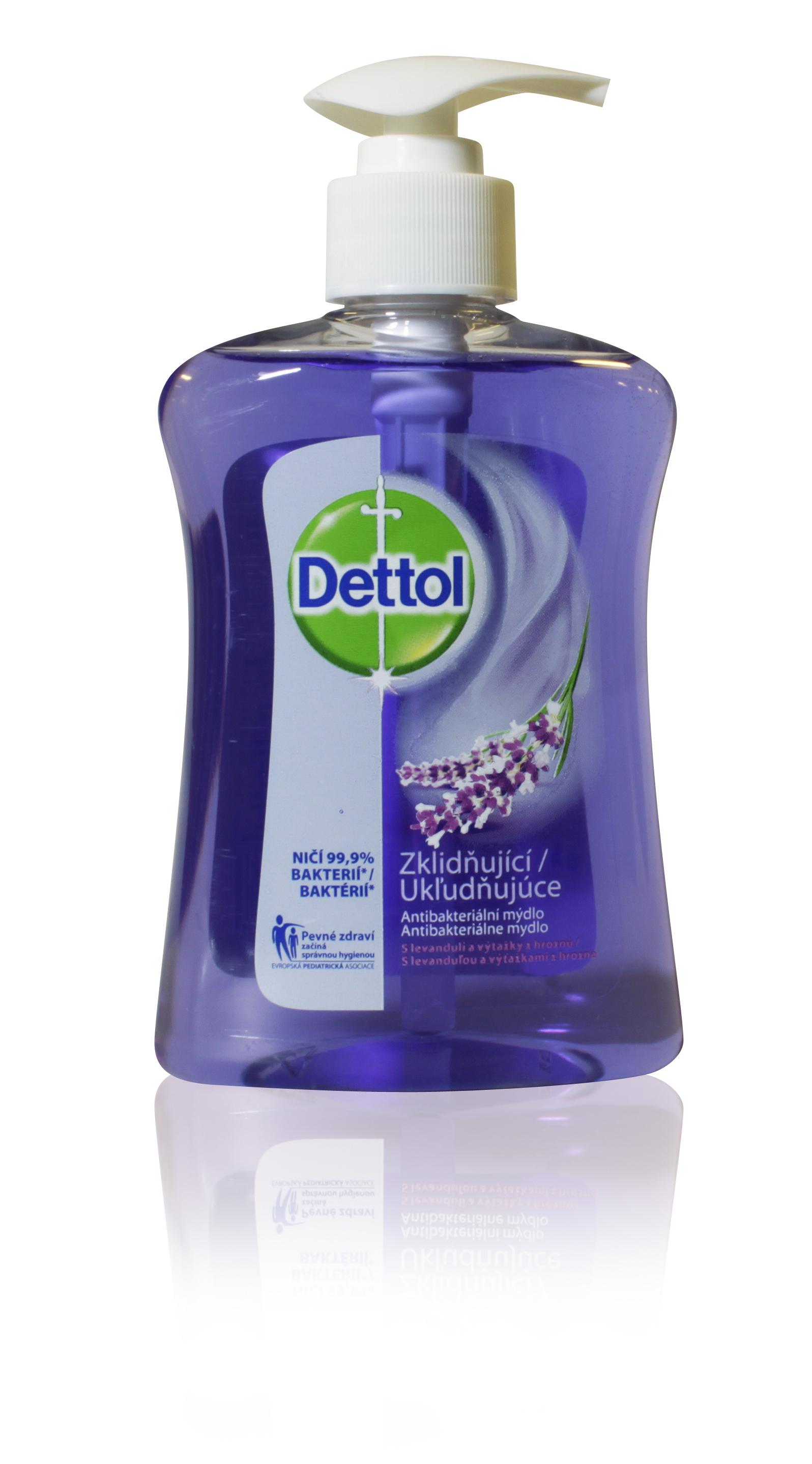 Dettol mýdlo antibakt. zklidňující 250ml