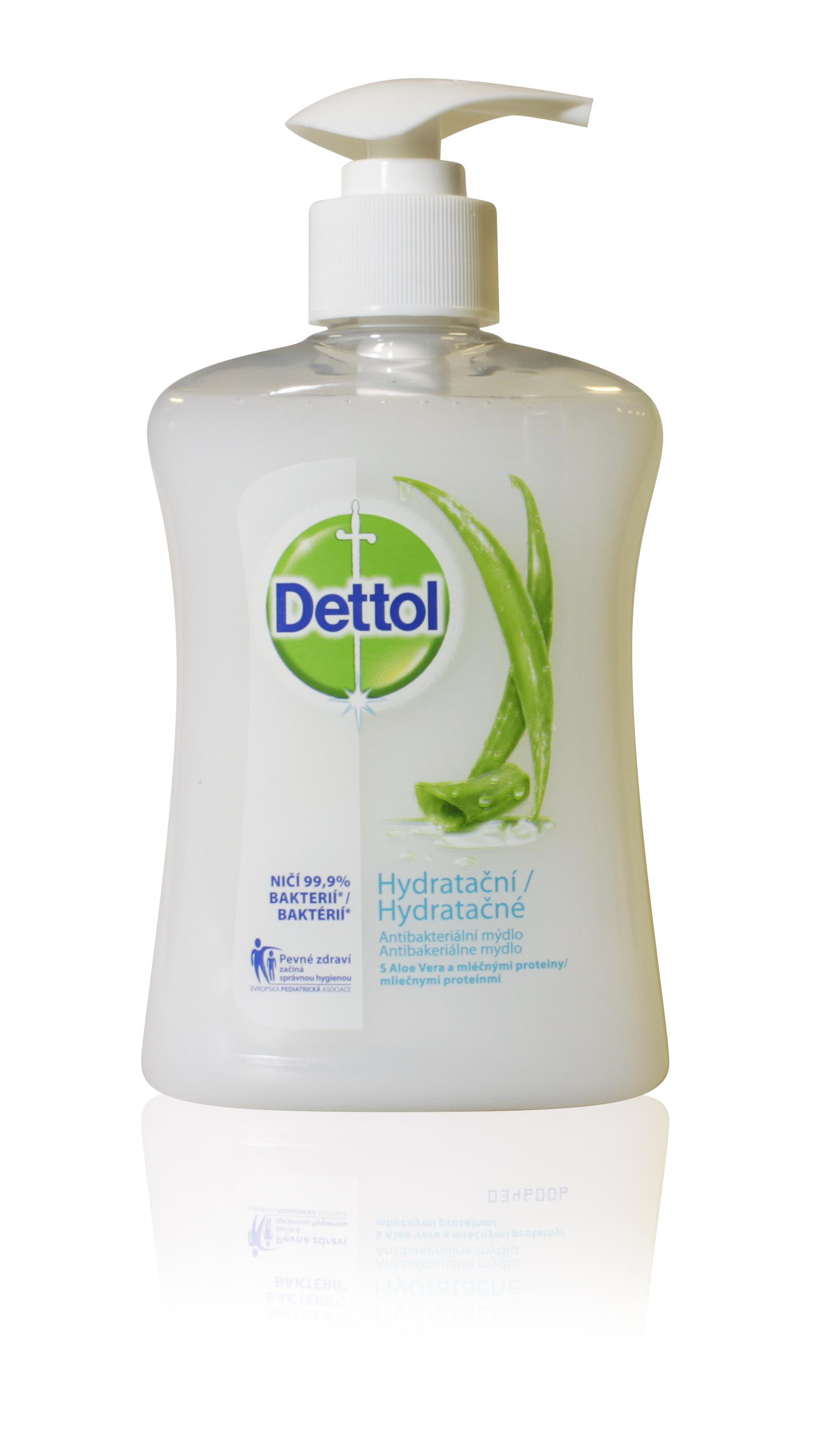 Dettol mýdlo antibakt. hydratující 250ml