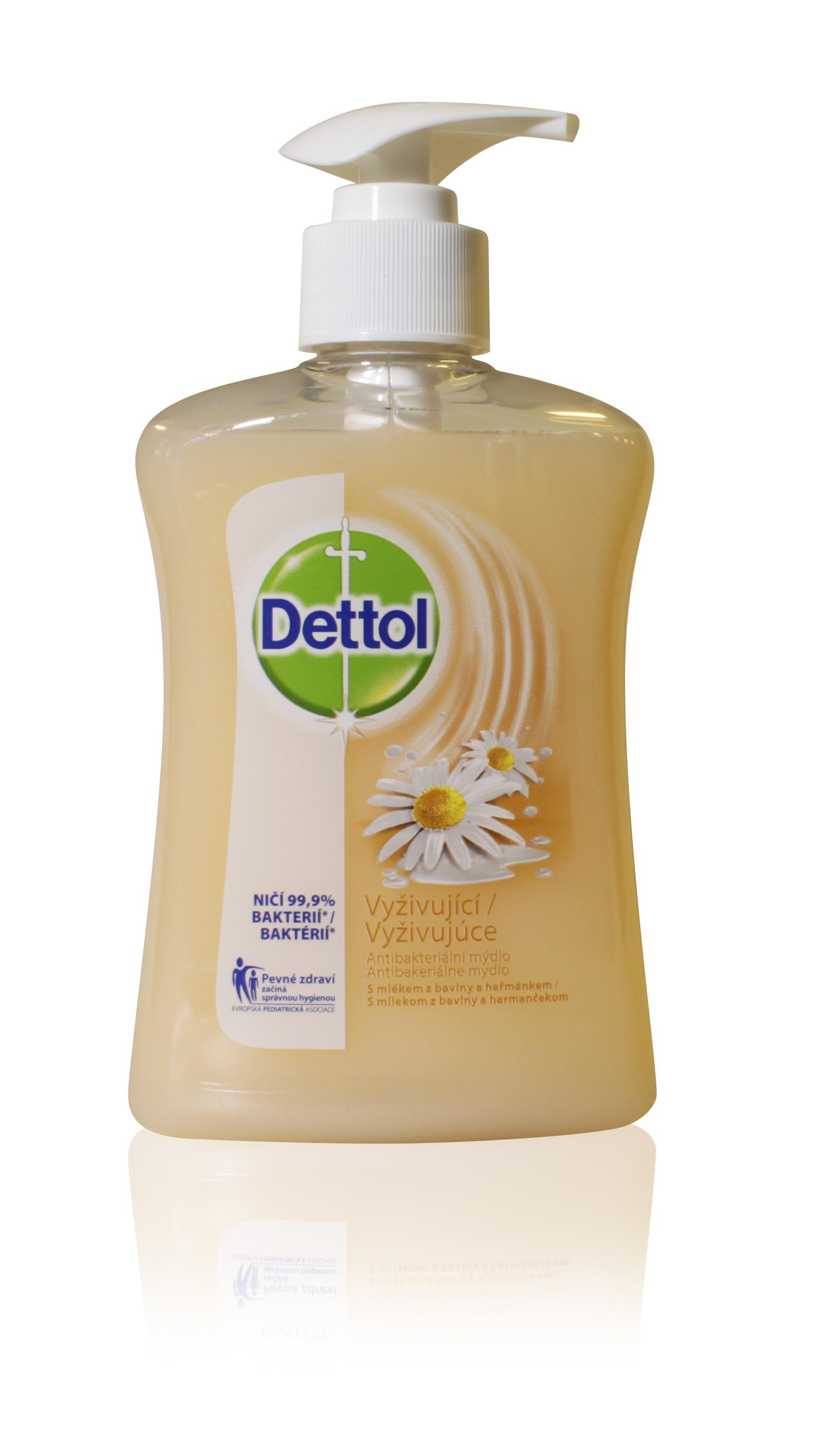 Dettol mýdlo antibakt. zjemňující 250ml