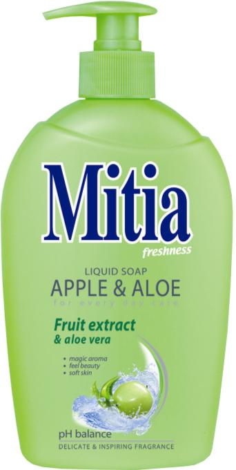 Mitia tek.mýdlo 500ml Apple & Aloe pumpa