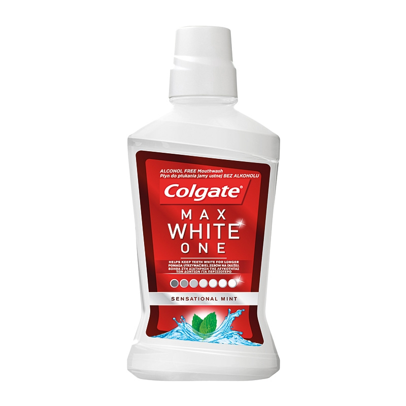 Colgate Max White One ústní voda 500ml