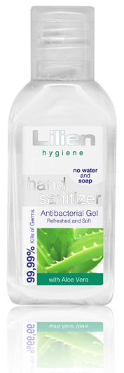 Lilien antibakteriální gel na ruce 50ml