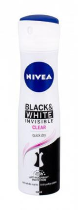 Nivea AP B+W Invisible Clear 150ml