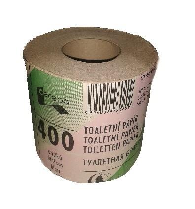 TP 400 útržků růžovo-zelený obal 1role