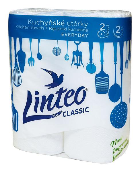 KU Linteo Classic 2-vrstvé bílé 1role(2)