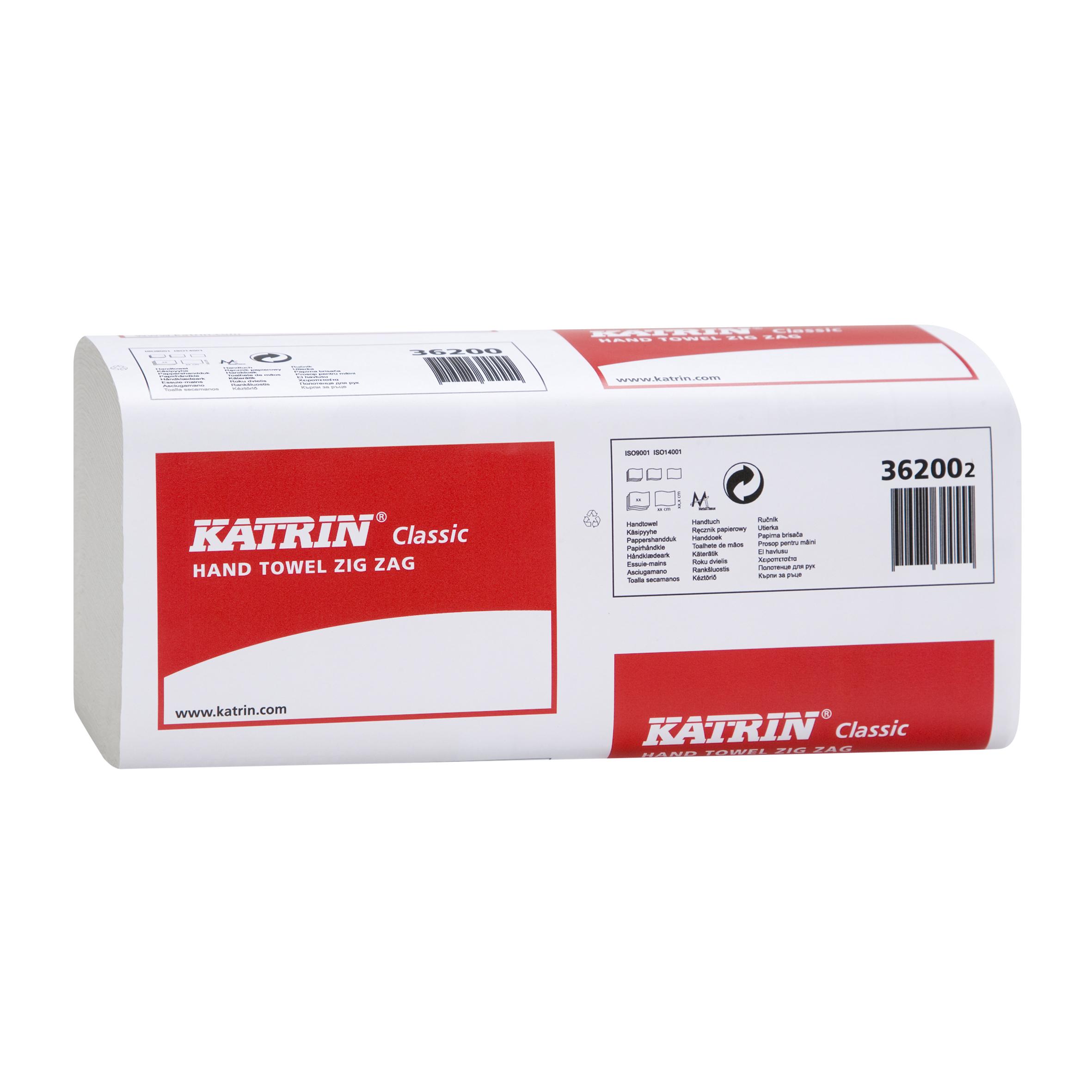 Ručníky Z-Z 200ks 1vr 362002 Katrin bílé