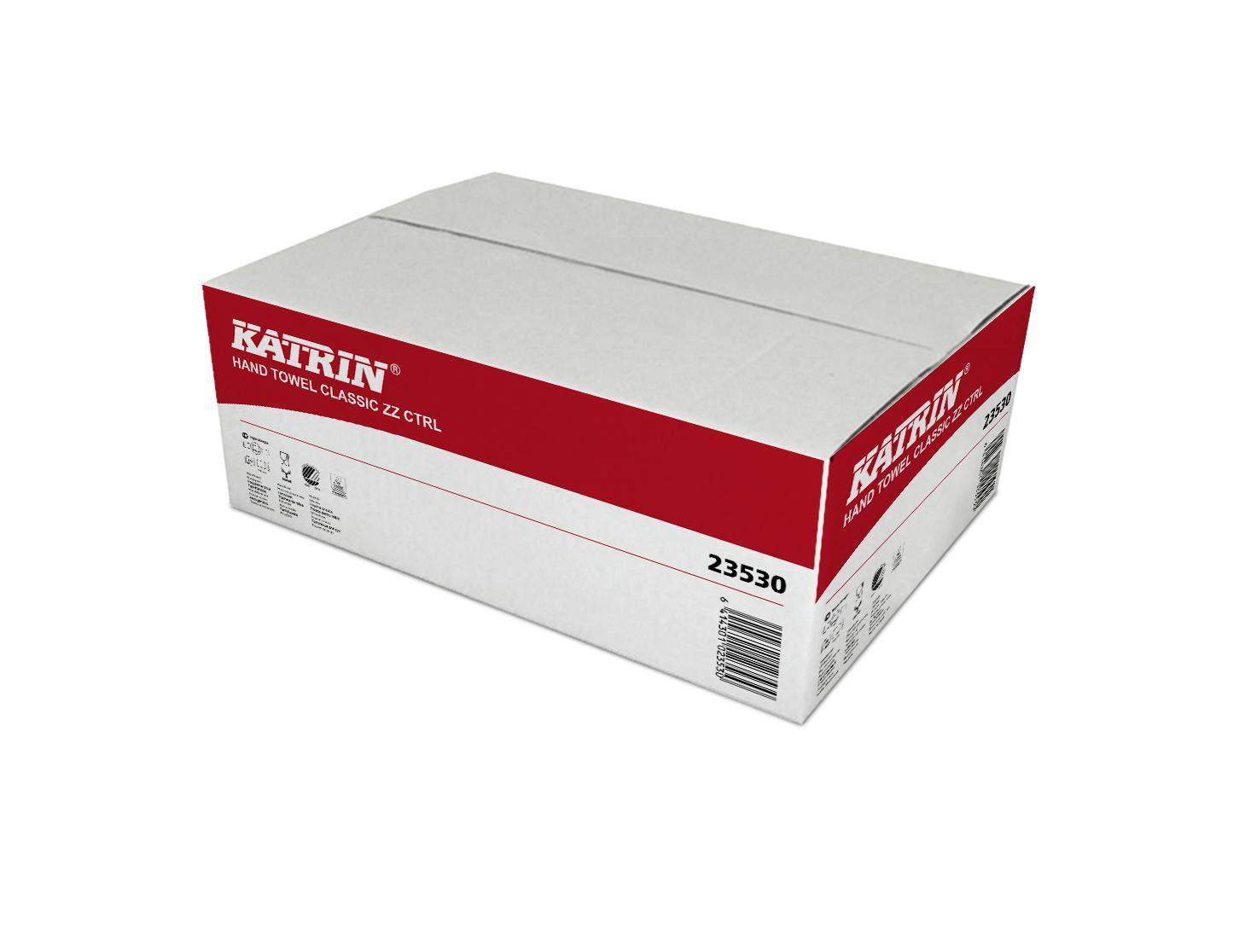 Ručníky Z-Z 240ks 2vr. 23530 bílé KatrinClassic