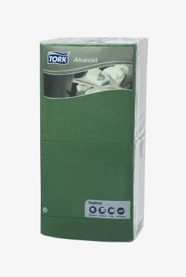 Ubrousky Tork 33x33 zelené 18461 250ks