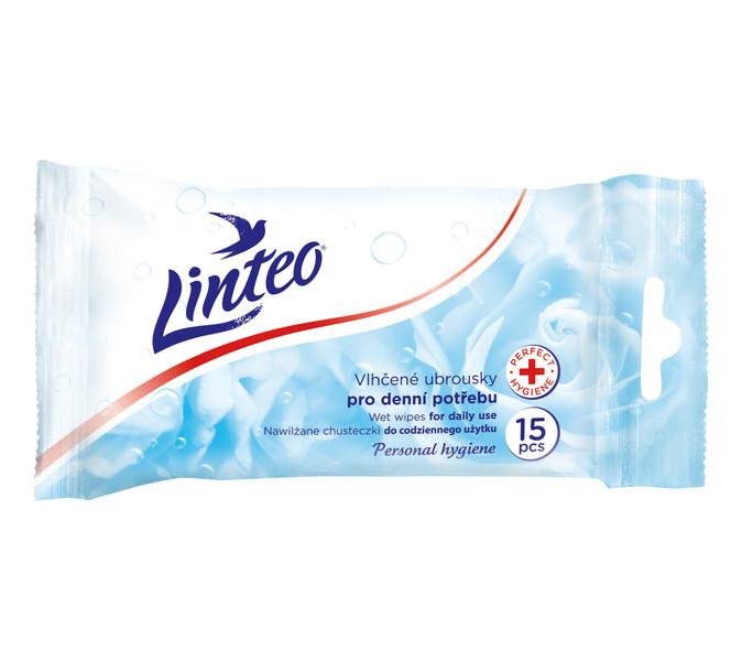 Vlhčené ubrousky Linteo antibakt. 15ks