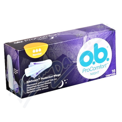 O.B.tampon Night  ProComfort  Normal 16ks