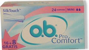 O.B.tampon Night  ProComfort  Super 16ks