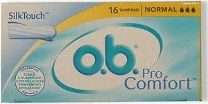 O.B.tampon Normal ProComfort  16ks