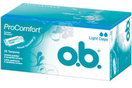 O.B.tampon Light ProComfort 32ks