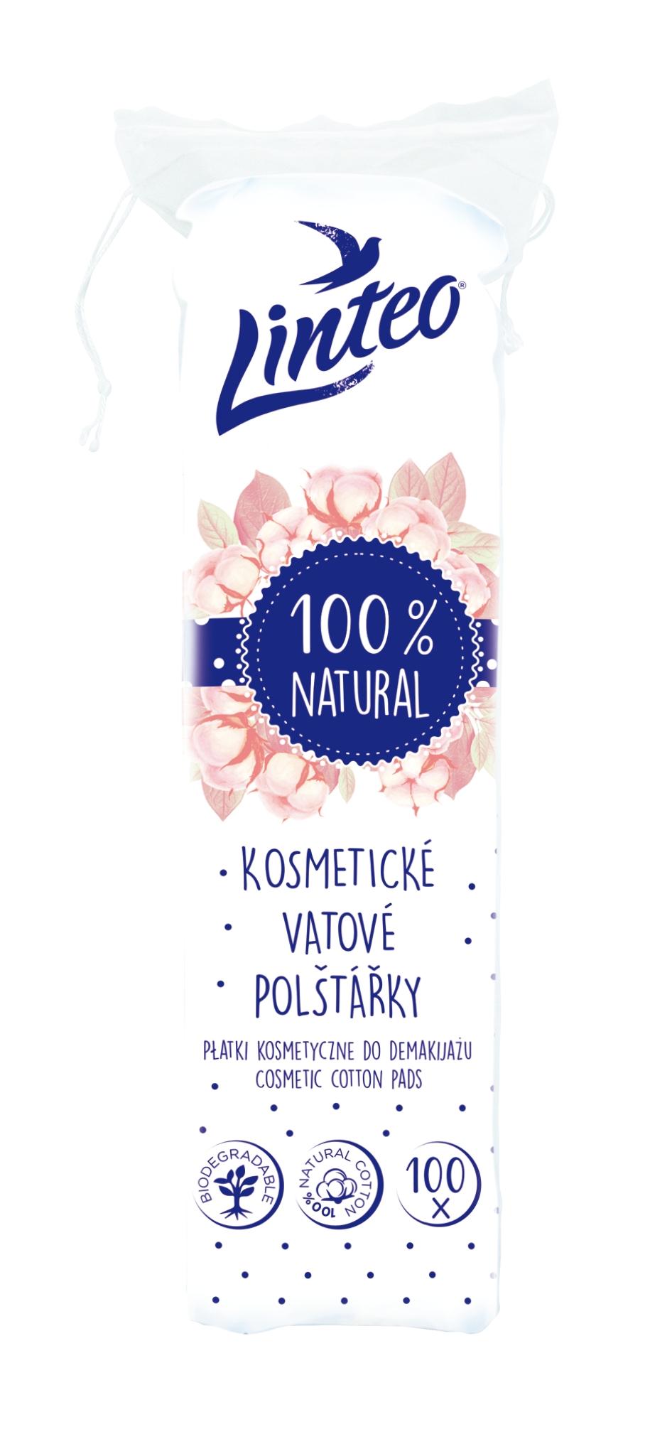 Kosmetické polštářky Linteo 100ks